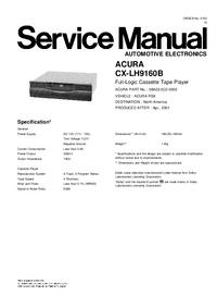 Honda CX-LH9160B