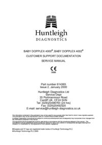 Huntleigh BABY DOPPLEX 4002®