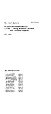 IBM Notebook N45SL (2614)