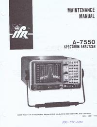 IFR A-7550