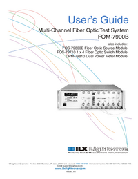 ILX FOM-7900B