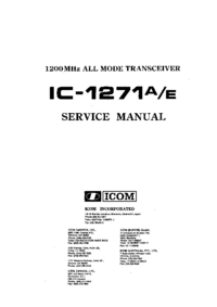 Icom IC-1271A
