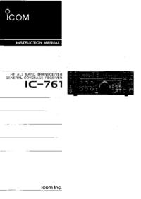 Icom IC-761