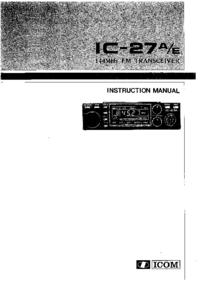 Icom IC-27A