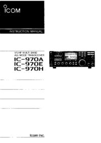 Icom IC-970E