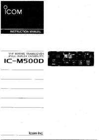 Icom IC-M500D