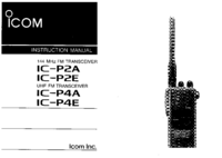 Icom IC-P2A