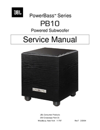 JBL PowerBass PB10