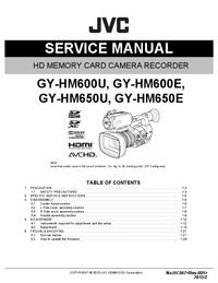 JVC GY-HM650U
