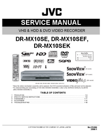 JVC DR-MX10SEK