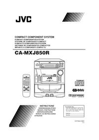 JVC CA-MXJ850R