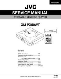 JVC XM-PX50WT