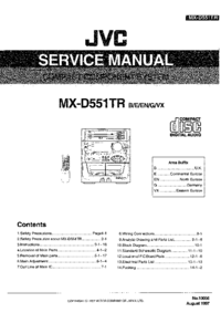 JVC MX-D551TR