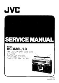 JVC RC-838LB