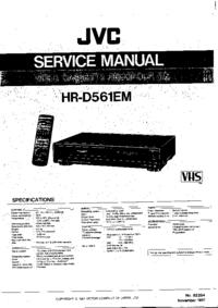 JVC HR-D561EM