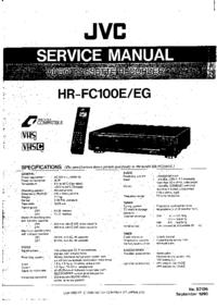 JVC HR-FC100EG