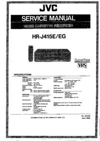 JVC HR-J415EG