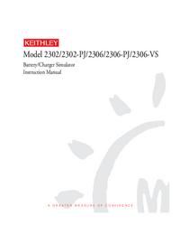 Keithley 2306-VS