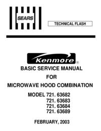 Kenmore 721. 63689