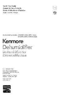 Kenmore 251.25011