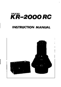 Kenpro KR-2000 RC