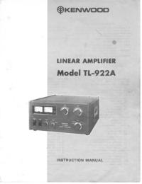 Kenwood TL-922A