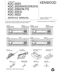 Kenwood KDC-2024SG