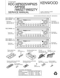 Kenwood KDC-MP858