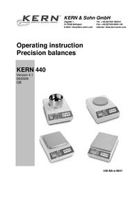 Kern 440-21N