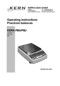 Kern PBS 620-3M