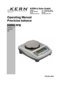 Kern PFB 120-3