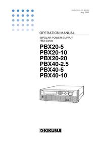 Kikusi PBX40-10