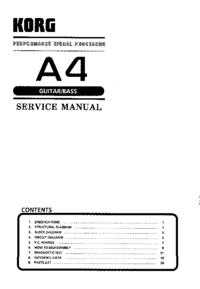 Korg A4
