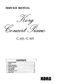 Korg C-303