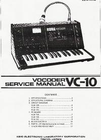 Korg Vocoder VC-10