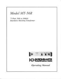 KrohnHite MT-56