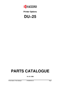 Kyocera DU-25