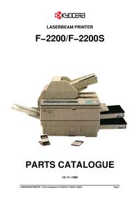 Kyocera F−2200