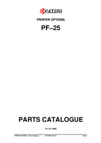 Kyocera PF−25