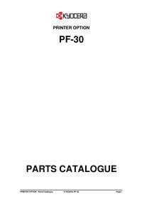 Kyocera PF-30