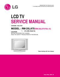 LG RM-20LA70