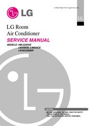 LG LWHD2500ER