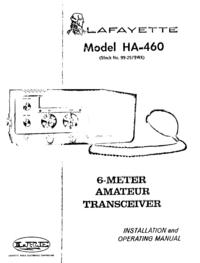 Lafayette HA-460