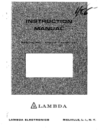 Lambda LDS-X-20