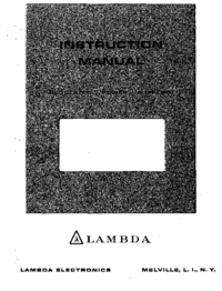 Lambda LDS-Y-15