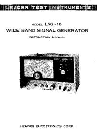 Leader LSG-16