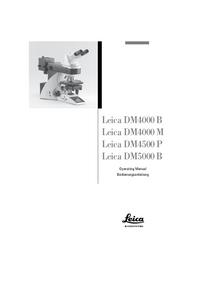 Leica DM4000 B
