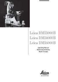 Leica DMI3000B