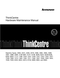 Lenovo ThinkCentre 4084