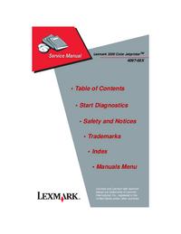 Lexmark 3200 Color Jetprinter